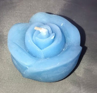 FLOATING CANDLE ROSE LT. BLUE