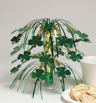 CENTERPIECE CASCADE SHAMROCKS