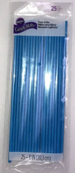 TREAT STICKS BLUE 8 IN. 25 CT