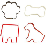 COOKIE CUTTER PET COLORED 4 PC