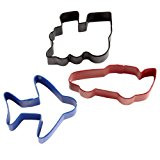 COOKIE CUTTERS TRANSPORTATION 3 PC