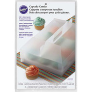CUPCAKE CARRIER TRANSPARENT 12 CAV