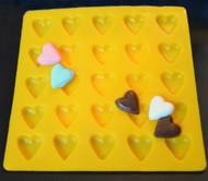 FLEX MOLD HEART X 25