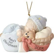 PM181006 BABY BOY FIRST CHRISTMAS 2018