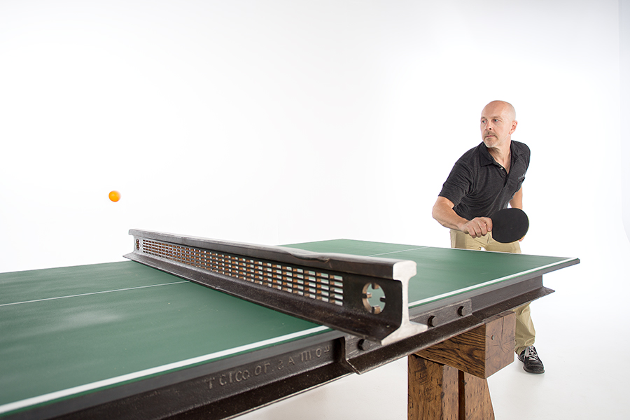 Click Clack Tennis Table Custom Designed Furniture Nashville