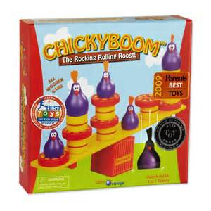 Blue Orange Chickyboom kids game