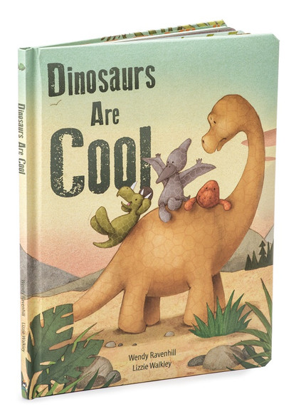Jellycat Dinosaurs Are Cool Board Book