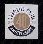 C V Holland 40th Anniversary (1976)
