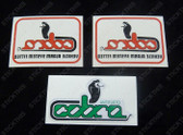 Cobra Alarm Decal Kit, HDT VH VK VL VN - Green