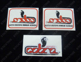 Cobra Alarm Decal Kit, HDT VH VK VL VN - Red