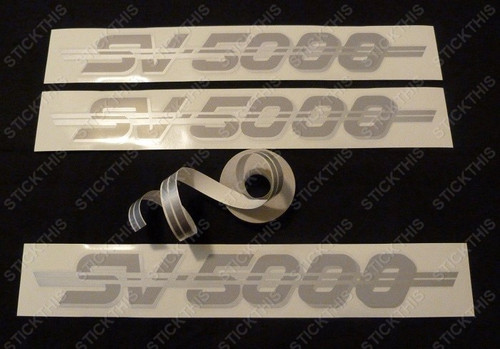 SV5000 Complete Body Decal and Stripe Kit, VN