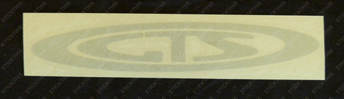 "VR GTS - Boot ""GTS"" Decal - Light Grey"