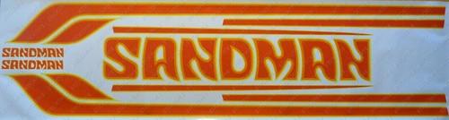 Sandman Stripe and Decal Kit , DY3 (Yellow, Orange, Light Red) - HX