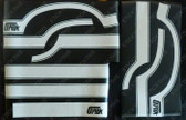 LH Gpak Paint Mask Stripe Kit