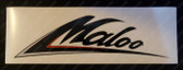 Maloo Body Decal, VG-VS, Black/Red/Grey