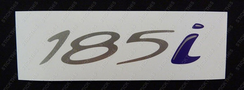 185i Boot Decal - HSV VR Series II