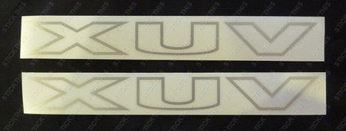 HSV Avalanche XUV Sailplane Decals - VY VZ