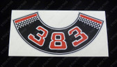 383 Chev Air Cleaner Decal