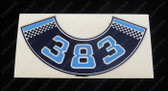 383 Chev Air Cleaner Decal - Blue