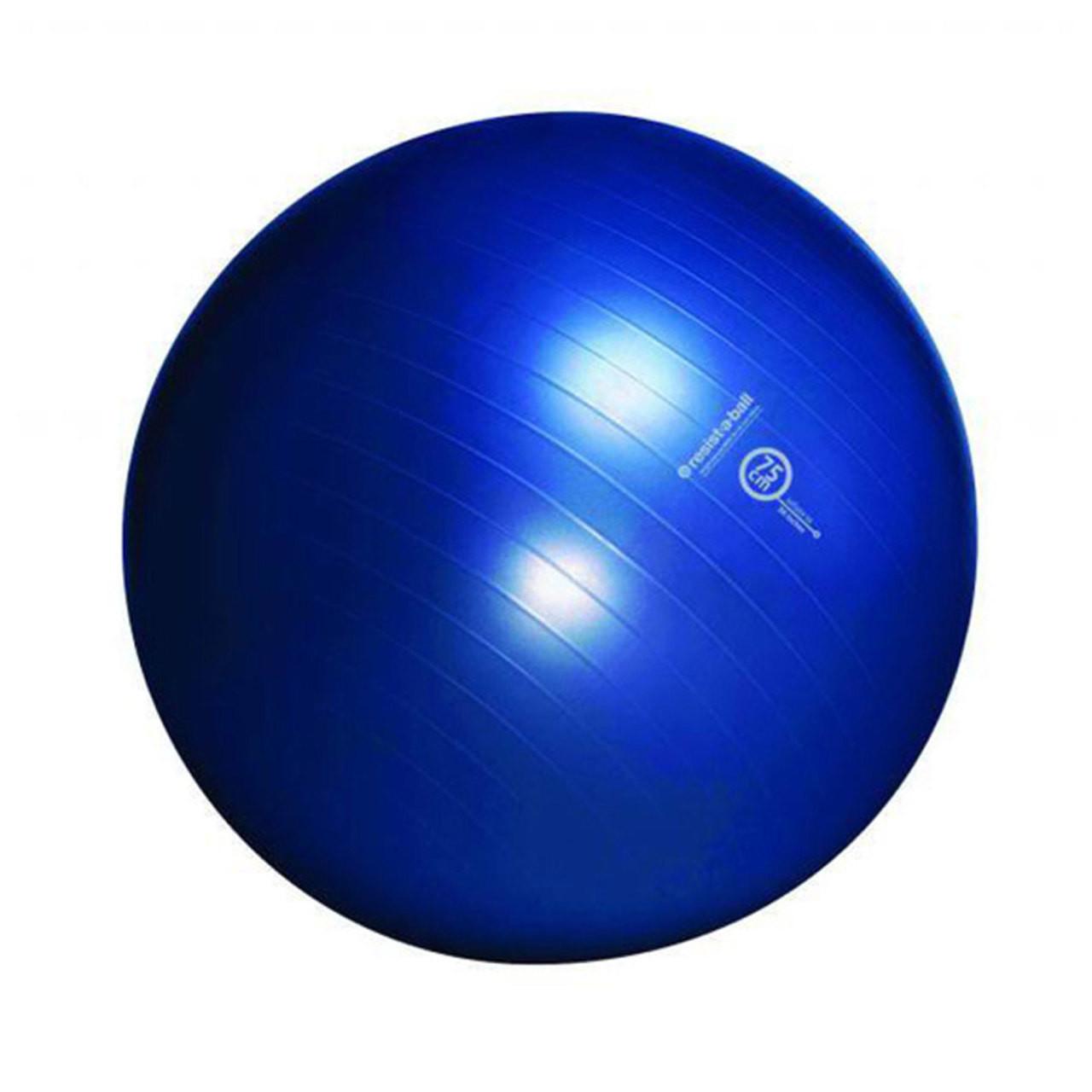 Balance Ball Blue: Resist-A-Ball® Exercise Kit 75cm