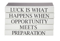 Quotations Series: Luck