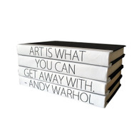 "Quotations Series: ""Art Is What You Can Get Away With"" 4 Volume Stack"