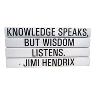 "Quotations Series: ""Wisdom Listens."" 4 Vol."