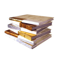 Dipped Antiqued Gold-XL (priced per book)