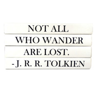 "Quotations Series ""Not All Who Wonder Are Lost"""