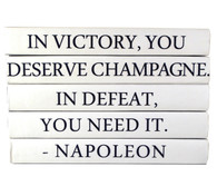 "Quotation Series: NAPOLEON ""In Victory..."" 5 Volume Stack"