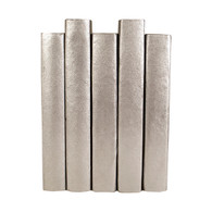 Painted Metallic Silver (priced per book)