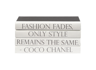 "Quotations Series:  Coco Chanel ""Fashion fades..."""