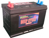 Neuton Power 120A/H Automotive Deep Cycle Starting Battery - 1 Year Warranty