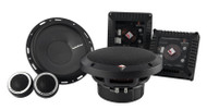 """Rockford Fosgate T1650-S Power 6.50"""" 2-Way Euro Fit Compatible Component System"""