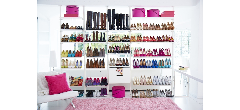 Large Shoe Rack Display