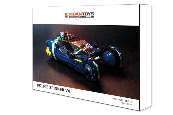 The Police Spinner V4 is Here
