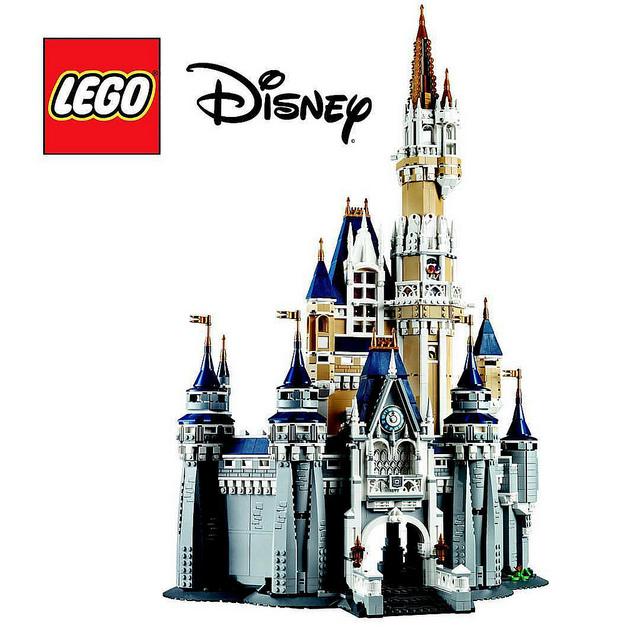 NEW LEGO 71040 DISNEY WORLD CINDERELLA CASTLE 4080 PIECE SET