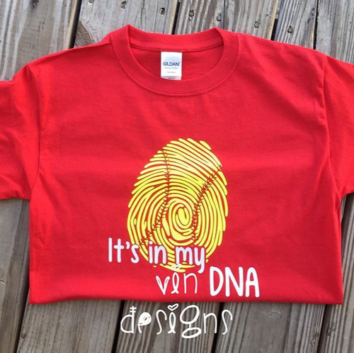 Its in my DNA (Softball Shirt)