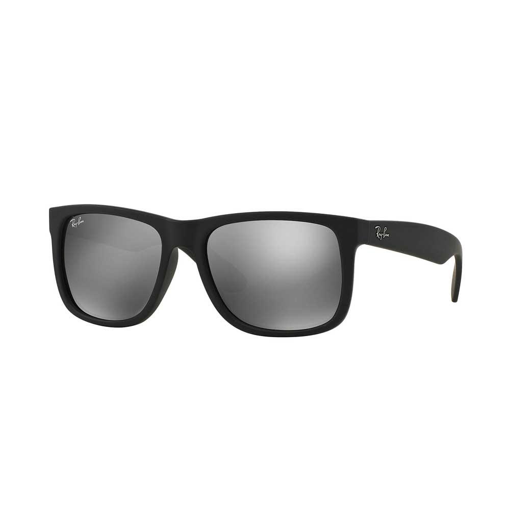 Black Grey Mirror Justin Classic Sunglasses