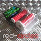 TORC1 ENDURO GRIPS  (RED / WHITE)