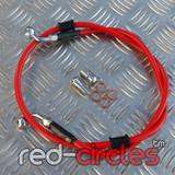 VENHILL RED FRONT BRAKE HOSE 1150mm