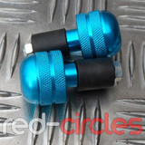 BAR END WEIGHT SMALL - BLUE