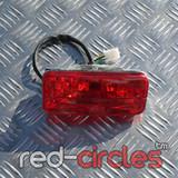 ATV RED REAR BRAKE LIGHT