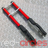 MINI DIRT BIKE FRONT FORKS - RED