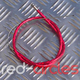 MINIMOTO FRONT BRAKE CABLE - RED