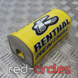 RENTHAL 178mm PITBIKE FATBAR PAD - YELLOW