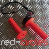 PITBIKE / ATV QUICK ACTION THROTTLE SET - RED