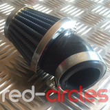 ANGLED PITBIKE / ATV K&N STYLE AIR FILTER - 45mm