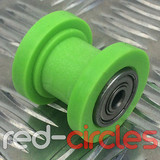 8mm PIT BIKE CHAIN ROLLER - GREEN