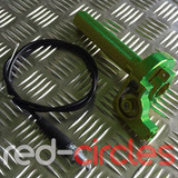 RCR PITBIKE QUICK ACTION THROTTLE TWIST- GREEN